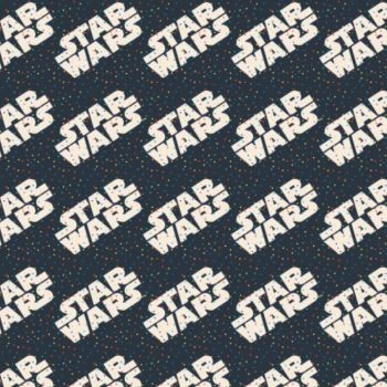Star Wars Logo Toss Tiny Dots Logos Confetti Cotton Fabric