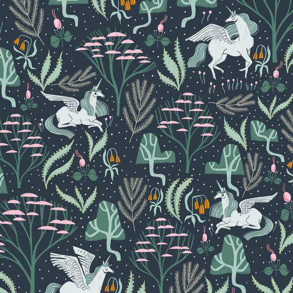 Mythical Mystical Atlantic Unicorn Pegasus Botanical Rae Ritchie Dear Stell