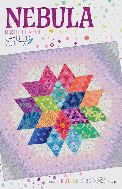 Jaybird Quilts Nebula Quilt Pattern - PATTERN ONLY
