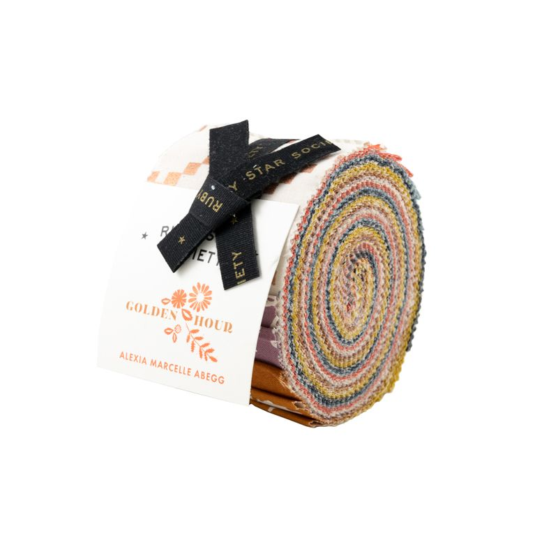 Ruby Star Society Golden Hour Alexia Abegg Junior Jelly Roll Quilting Strip