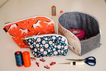 Aneela Hoey Open Out Box Pouch Pattern