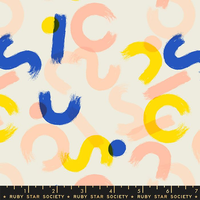 Whatnot Brushwork Shell Rashida Coleman-Hale Shapes Ruby Star Society Cotto