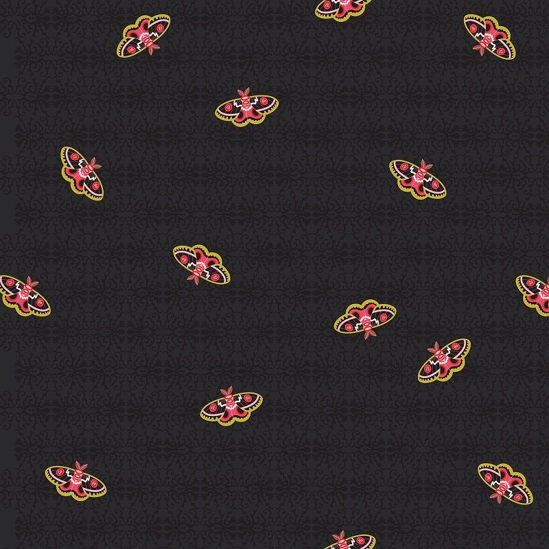 Art Theory Rainbow 100 Moth Night Alison Glass A9700-C Cotton Fabric