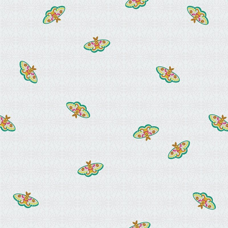 Art Theory Rainbow 100 Moth Night Alison Glass A9700-L Cotton Fabric