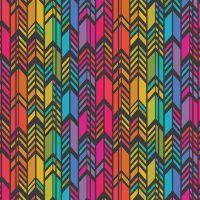 Art Theory Rainbow Feather Night Alison Glass A9701-C Cotton Fabric