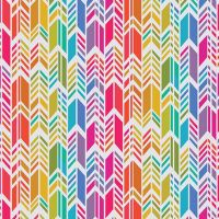 Art Theory Rainbow Feather Day Alison Glass A9701-L Cotton Fabric