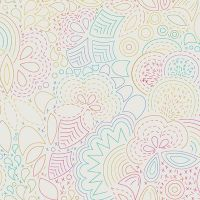 Art Theory Rainbow Stitched Day Alison Glass A9702-L Cotton Fabric