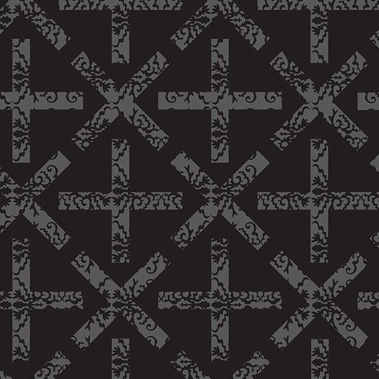 Art Theory x&+ Night Alison Glass A9704-C Cotton Fabric
