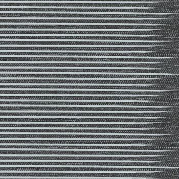 Almost Blue Stripe Asphalt Libs Elliott Cotton Fabric
