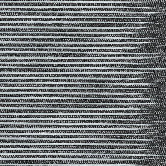 Almost Blue Stripe Asphalt Libs Elliott Cotton Fabric