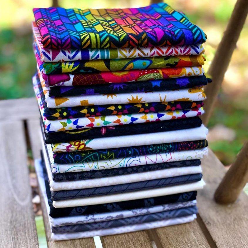 Alison Glass Art Theory 20 Full Yard Bundle Cotton Fabric Cloth Stack