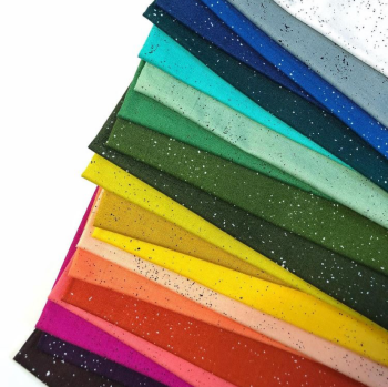Giucy Giuce Spectrastatic II Rainbow Full Collection 20 Fat Quarter Bundle Cotton Fabric Cloth Stack