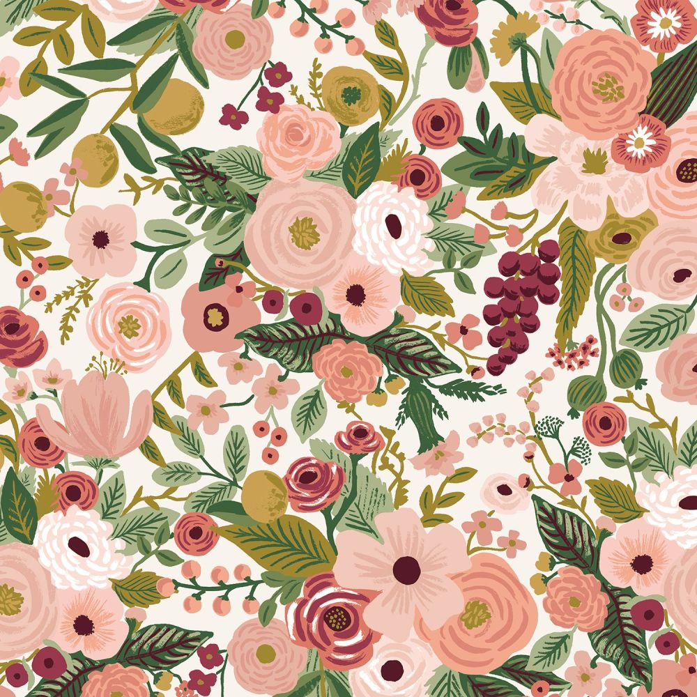 Rifle Paper Co. Garden Party 2021 Rose Floral Botanical Cotton Fabric
