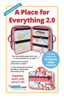 PRE-ORDER By Annie A Place For Everything 2.0 Pattern