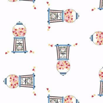 Michael Miller Celebrate Sandra Clemons Gumballs Blossom Candy Nursery Cotton Fabric
