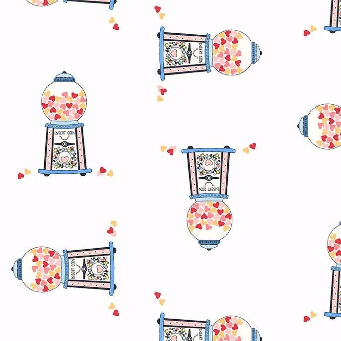 Michael Miller Celebrate Sandra Clemons Gumballs Blossom Candy Nursery Cott