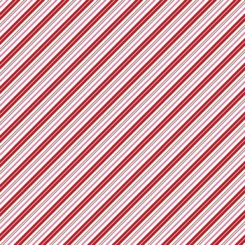 Santa Claus Lane Candy Stripes Red Pink Diagonal Stripe Bias Christmas Festive Holiday Winter Cotton Fabric