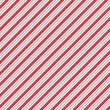 Santa Claus Lane Candy Stripes Red Pink Diagonal Stripe Bias Christmas Festive Holiday Winter Cotton Fabric