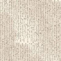 Jane Austen At Home Correspondence Selvedge Text Cream Letters Riley Blake Designs Cotton Fabric