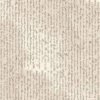 Jane Austen At Home Correspondence Selvedge Text Cream Letters Riley Blake Designs Cotton Fabric