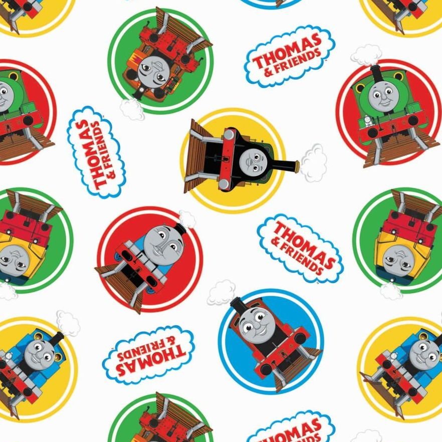 Thomas and Friends Classic Character Badges White Thomas The Tank Engine Nu