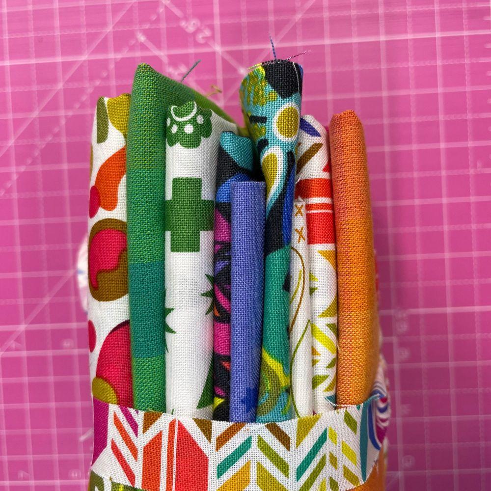 DESTASH Alison Glass Stash Starter Bundle Cotton Fabric Stash Stack