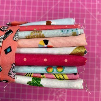 DESTASH Club Tropicana Stash Starter Bundle Cotton Fabric Stash Stack  (Camera Tie Cactus Base)