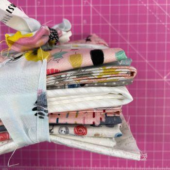 DESTASH Stitchers Stash Starter Bundle Cotton Fabric Stash Stack  (Girls Club Tie)
