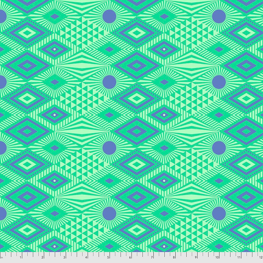 PRE-ORDER Tula Pink Daydreamer Lucy Lagoon Cotton Fabric