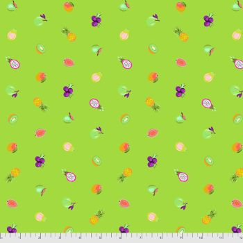 PRE-ORDER Tula Pink Daydreamer Forbidden Fruit Snacks Kiwi Cotton Fabric