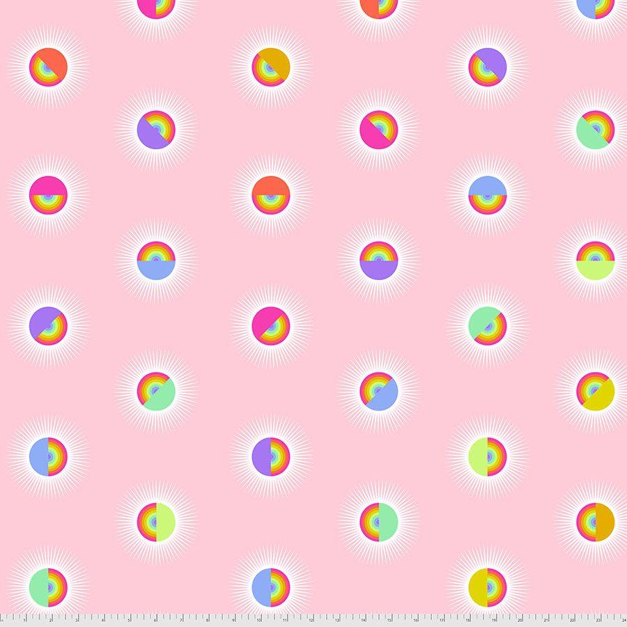 PRE-ORDER Tula Pink Daydreamer Saturdaze Guava Quilt Backing 108