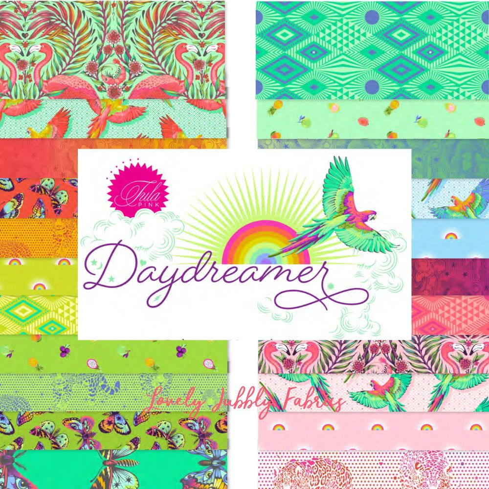 PRE-ORDER Tula Pink Daydreamer Full Collection Full Yard Bundle Cotton Fabr