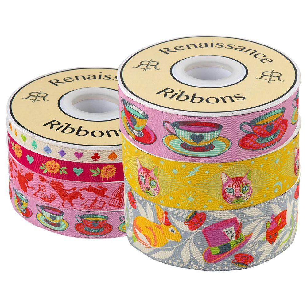 Tula Pink Curiouser and Curiouser Wonder 7 Yard Bundle Renaissance Ribbons