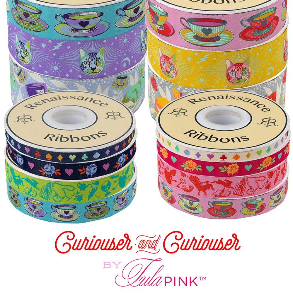 Tula Pink Curiouser and Curiouser Full Collection 14 Yard Bundle Renaissanc