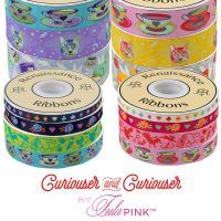 Tula Pink Curiouser and Curiouser Full Collection 14 Yard Bundle Renaissance Ribbons