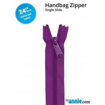 "By Annie 24"" Handbag Zipper Single Slide Tahiti Zip"
