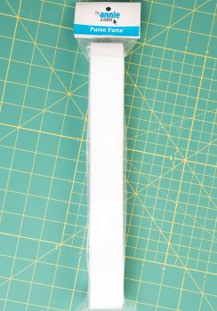 By Annie Strapping 1.5 Inch Wide White - Bag Handles and Straps Webbing White Polypropylene Polypro - 6 Yards