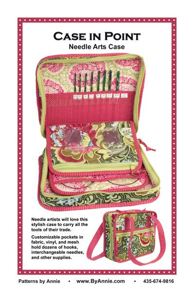 By Annie Case In Point Bag Pattern