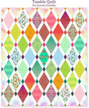 PRE-ORDER Tula Pink Daydreamer Tumble Quilt Fabric Kit - Pattern Available online from FreeSpirit Fabrics