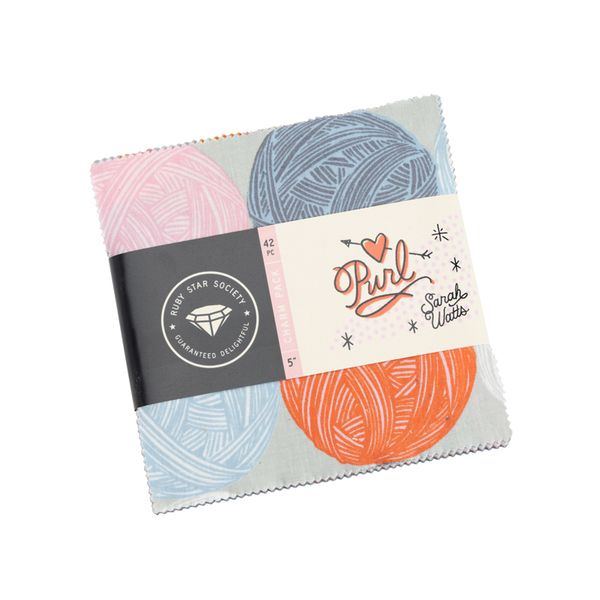 Ruby Star Society Purl Sarah Watts Charm Pack 5 Inch Quilting Squares