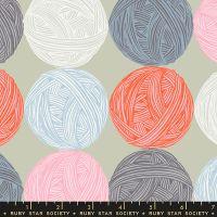 Ruby Star Society Purl Wound Up in Wool Yarn Balls Wool Crochet Knitters Knitting Sarah Watts Cotton Fabric