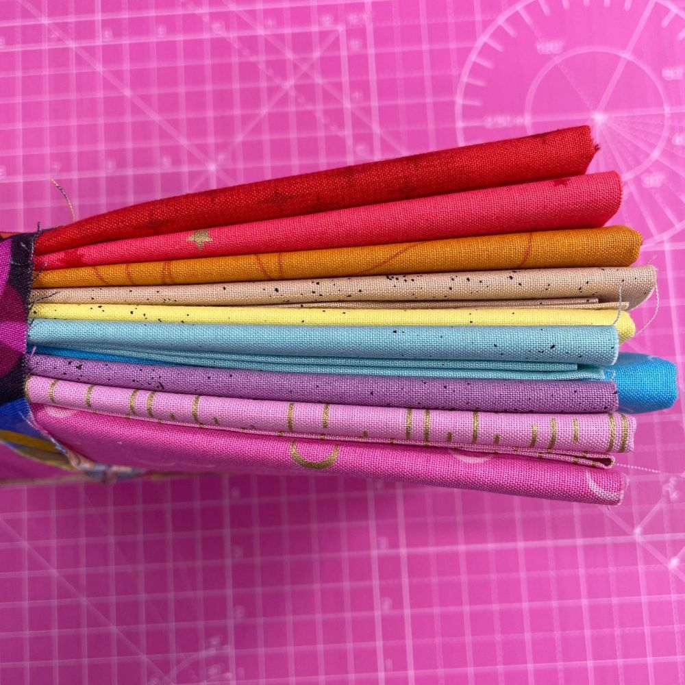 DESTASH Andover Allstars Bundle Giucy Giuce Libs Elliott 10 Cotton Fabric C