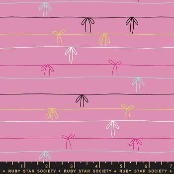 Adorn Tied Up Blend Kiss Ruby Star Society Rashida Coleman-Hale Cotton Fabric RS1023 12