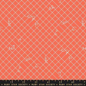 Adorn Broken Ties Blend Tangerine Dream Ruby Star Society Rashida Coleman-Hale Cotton Fabric RS1024 14