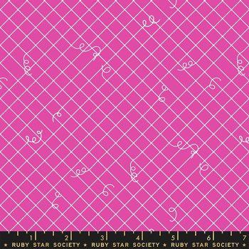 Adorn Broken Ties Blend Berry Ruby Star Society Rashida Coleman-Hale Cotton Fabric RS1024 18