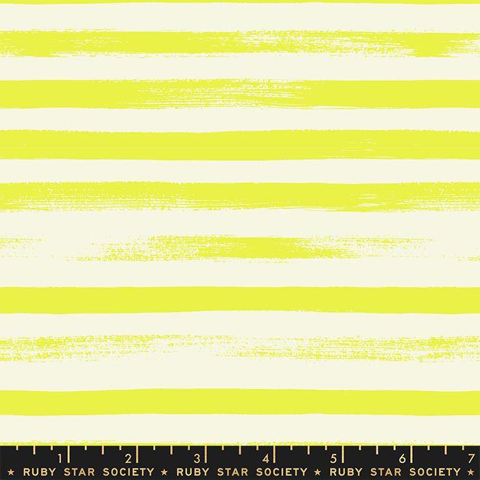 Zip Citron Geometric Stripe Ruby Star Society Rashida Coleman-Hale Cotton F