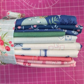 RARE Out of Print Pemberley Jane Austen 10 Fabric Last Chance Bundle Cotton Fabric Cloth Stack