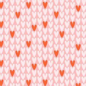 Figo Squeeze Love Hearts Cotton Fabric 90299-21