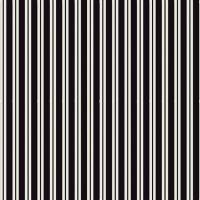 Spooky Hollow Stripes Black Halloween Geometric Cotton Fabric