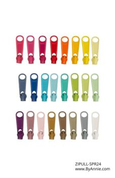 By Annie Zipper Pull Set - Spring 24 Pieces